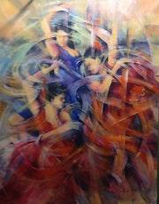 Danseuses espagnole. Norredine Chebahi