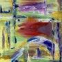 Vibrations - original painting. Gino Parisi