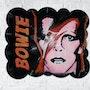 David Bowie on vinyl records. Mr. B.