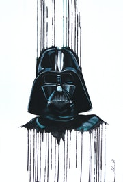 Darth Vader der Dunkle Lord Star Wars.