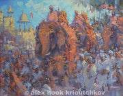 Hindu Festival. Alex Hook Krioutchkov