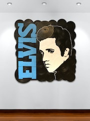 Elvis on vinyl, the King of rock'n'roll. Mr. B.