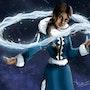 Pintura digital - Katara Avatar the Last Airbender. Dibus Rodo