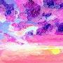 Coucher de soleil n°4. XI Chen