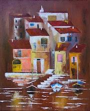 La ville en rouge. Arina Tcherem