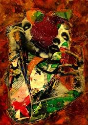 5- Marilyn Manson. (Collagemania). Carmen Luna