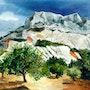 La montagne Sainte Victoire.