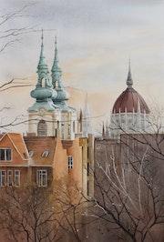Dômes et clochers. Christine Crehalet