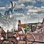 Street art Butte aux Cailles. Hervé Hameury