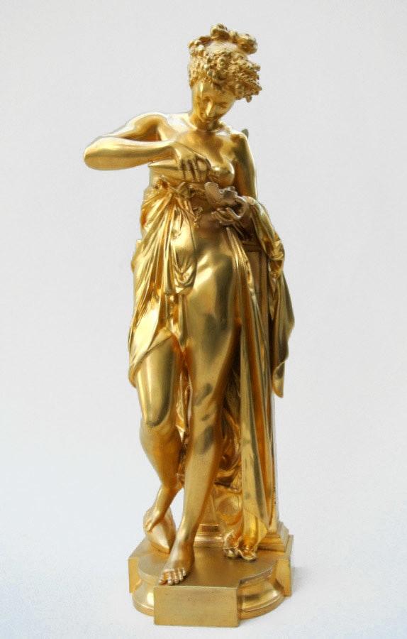 Psyché à la lampe. Albert Ernest Carrier-Belleuse Marc Menzoyan Antiquités