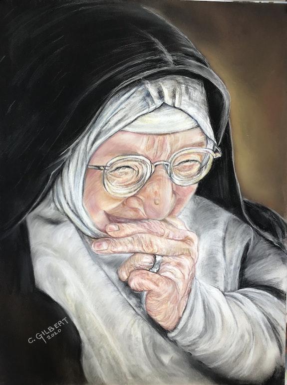 Religieuse rigolote. Chantal Gilbert Chantal Gilbert