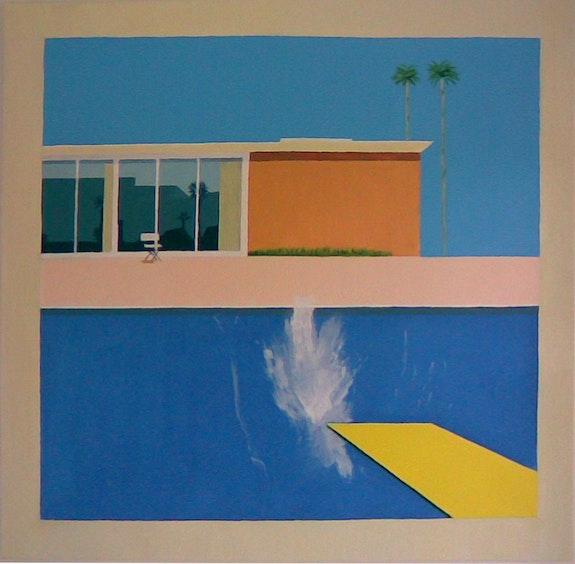 D'apres David Hockney. Cesar Luciano Cesar Luciano