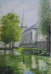 L'Eglise de Saint Exupère à Arreau.