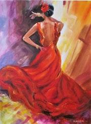 Danseuse andalouse.