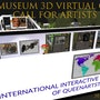 Exhibit inart museum 3d virtual gallery expo pro-emergency covid19. Queenartstudio Gallery