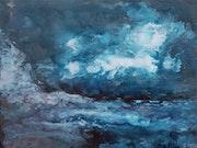 Lovely blue. Susanna Massa