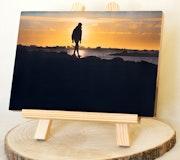Photographie sur bois - L'enfant du soleil. Delplanque Loïc