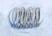 Oncena de sardinas asadas. Marcos Toti