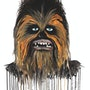 Chewbacca the Wookie de Star Wars. Mr. B.