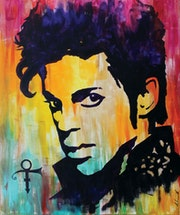 Prince of many colours - pop legend. Mr. B.