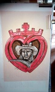 Blason cœur de chouan. Fantou16