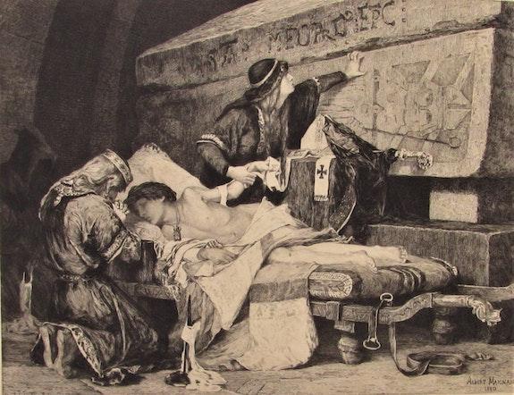 Lionel. Lecouteux (1847-1909), d'après A. Maignan, 1880 : «Chlodebert». Lionel Lecouteux (1847-1909), d'après A. Maignan, 1880 : «Chlodebert» Historien d'art, Archéologue; Chercheur Free-L.