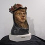 Femme chapeau. Lionel Periault