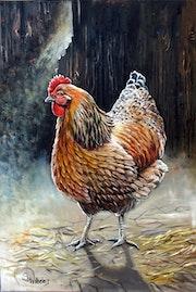 Das goldene Huhn.