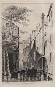 Léon gaucherel (1816-1886) : Souvenir de Venise. Vers1836.. Historien d'art, Archéologue; Chercheur Free-L.