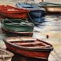 Les barques. Houmeau