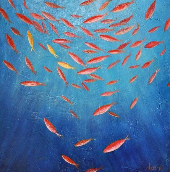 Goldfisch. Dane Galerie Arnaud