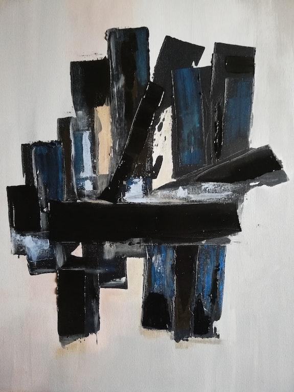 Abstrait n° 40. Marie-Christine Lamorre