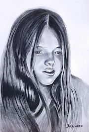 Jeune fille norvégienne.