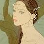 Femme aux muguets. Kiyoko