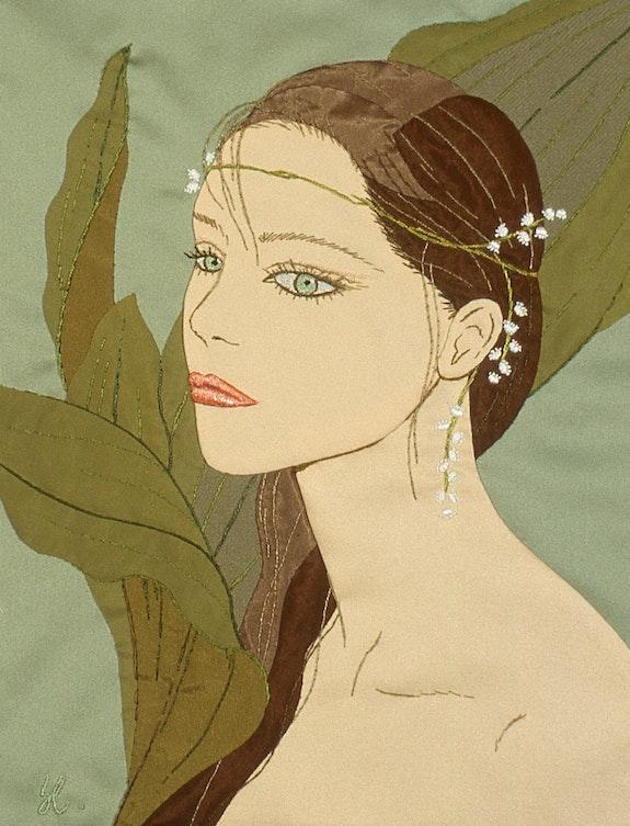 Femme aux muguets. Kiyoko Kiyoko