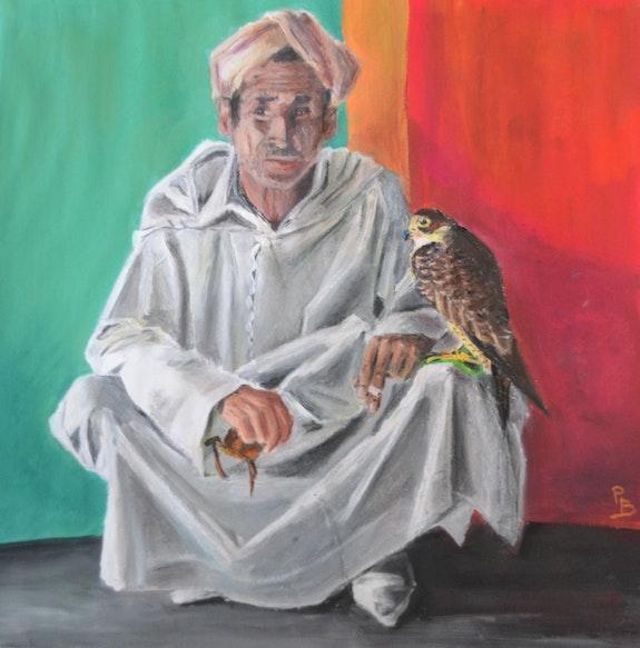 Le fauconnier. B. Perrin Bepop