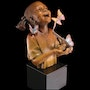 Hope African American Girl Sculpture by Thomas Blackshear.
