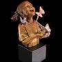Hope African American Girl Skulptur von Thomas Blackshear. Esculpture
