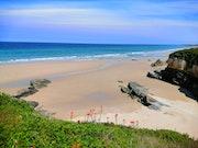 Playa en Barreiros, Lugo.