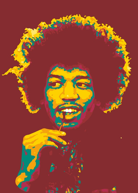Jimi Hendrix. James Marshall. Johnny Allen Hendrix.. Taurungka Graphic Design Taurungka Graphic Design