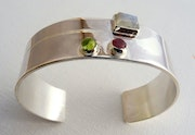 Bracelet «Opposés». Christine Richard