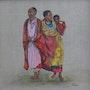 Joyeuses Masaïs. Patricia De Chadois