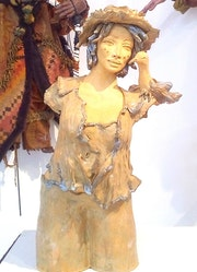 Femme pichet II.