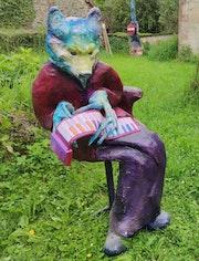 Le loup musicien. Gée