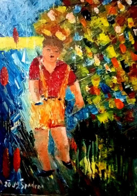 Una vista superior de un adolescente (la pubertad). Miroslav Spadrna Pintorcheco