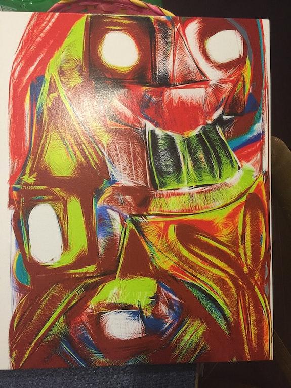 Robot Town. Jonathan Jaeger Radiant Art