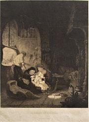 Jean-Jacques Veyrassat (1828-1893) en 1856, d'après Rembrandt en 1646.. Historien d'art, Archéologue; Chercheur Free-L.