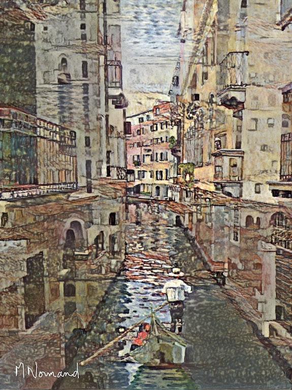 2020-05-17 Venise façon Gustav Klimt. Michel Normand Michel Normand