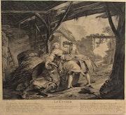 P. Filloeul (XVIIIe) d'après P. Le Mesle:Histoire d'un fabricant de cuves, 1737. Historien d'art, Archéologue; Chercheur Free-L.