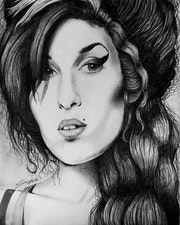 Amy Winehouse. Sophia Force